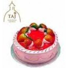 1 Kg  Fresh Strawberry Cake