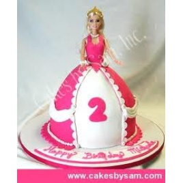 Special Barbie Cake For Your Angel