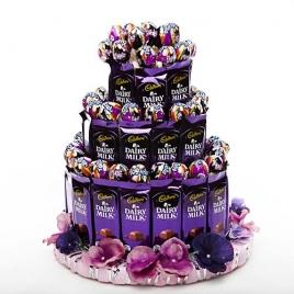 3-Tier Chocopop Cake